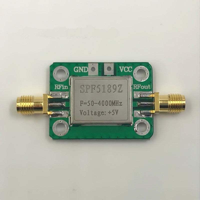0.1-2000MHz RF Amplifier 30dB Low Noise LNA Broadband Module Receiver SZHKUS