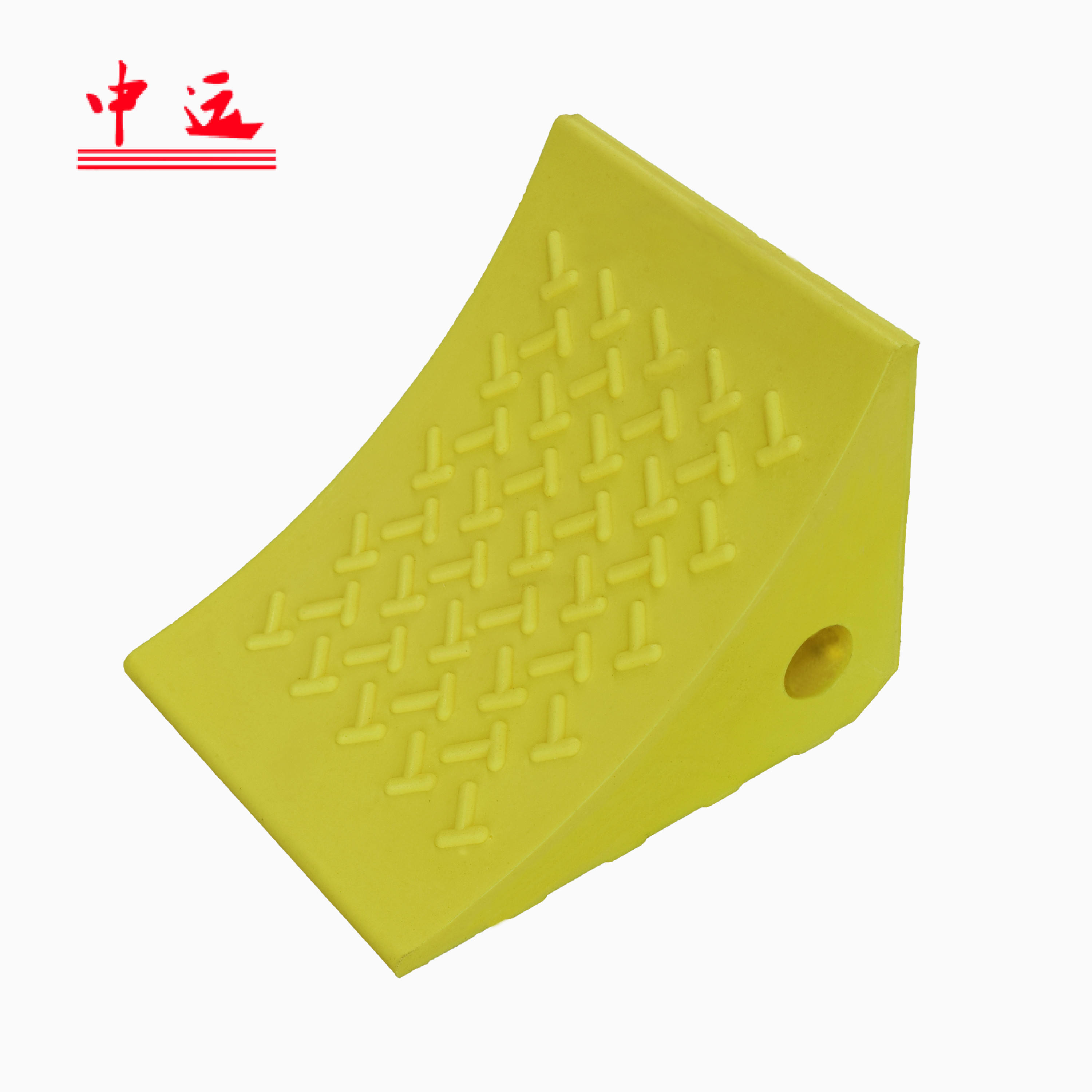 yellow or orange Normal Purpose Polyurethane wheel chock