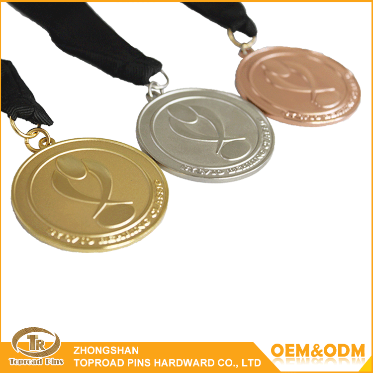 Make your own design custom metal craft zinc alloy blank gold /antique bronze /silver award metal medal