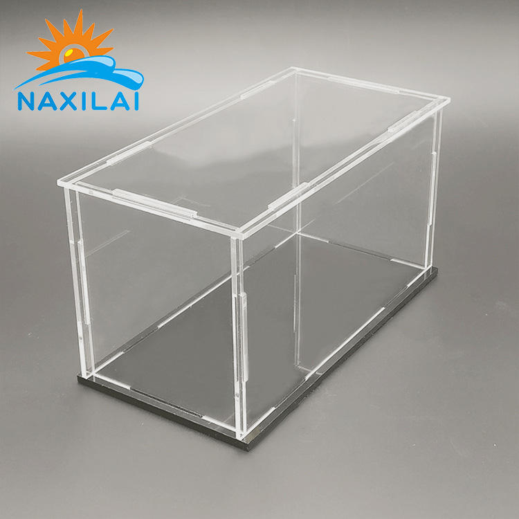 NAXILAI valentines quà tặng acrylic <span class=keywords><strong>hộp</strong></span> <span class=keywords><strong>lego</strong></span> cho container box