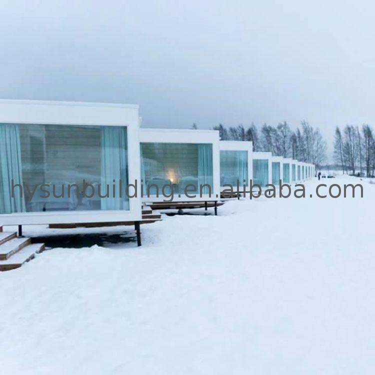 Factory Supply fast essemble container house assemble buildings for sale built modular cabin prices