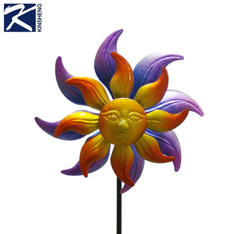 Новый дизайн цветок декоративные металлические сад доля
