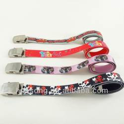 Elastic Kids Fashion Belts, Christmas Gifts, Customized Lany
