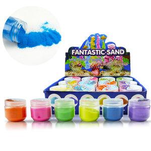 Toy magic sand