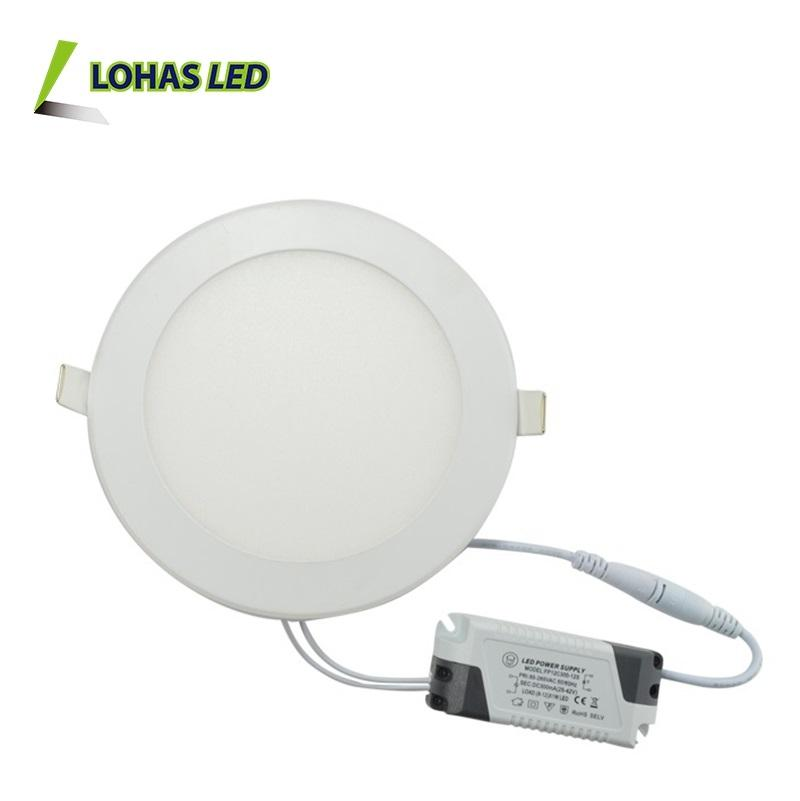 Ronde Led Flat Panel Verlichting 3 W 6 W 9 W 15 W 18 W 24 W Led Panel Licht ultra Slim Panel Led Plafondlamp