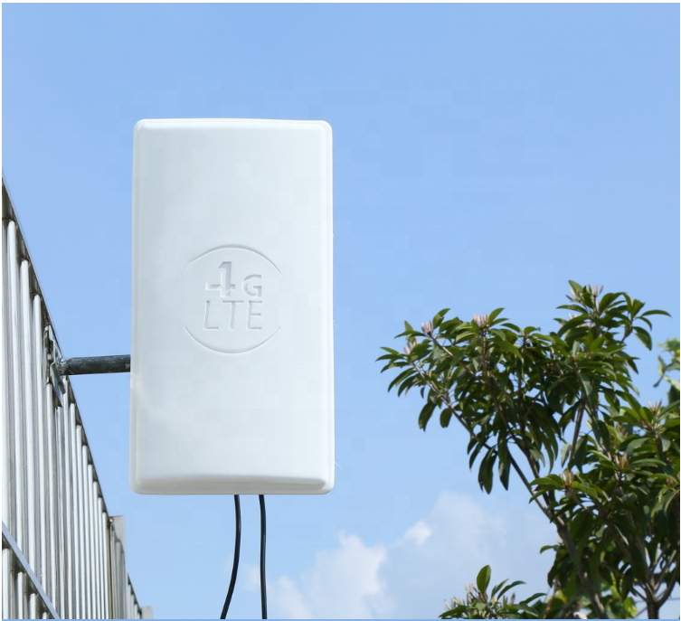 High gain 24dbi 1710-2600mhz mimo 4g lte external panel antenna long range 4G LTE outdoor Panel Antenna