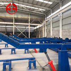 High Quality Steel Spiral Welded Pipe Line Making Machine