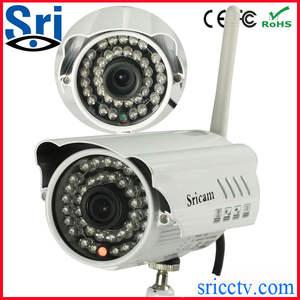 Sricam ap009 p2p wifi 1.0 megapixel câmera ao ar livre do ip do ir cut hd sem fio ip cam 720p