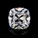 DEF Color Old Mine Cut Antique Cushion 6mm White Moissanite Diamond For Jewelry.