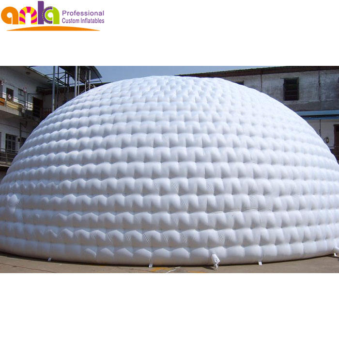 Top quality inflatable igloo tent dome 5m for china sale