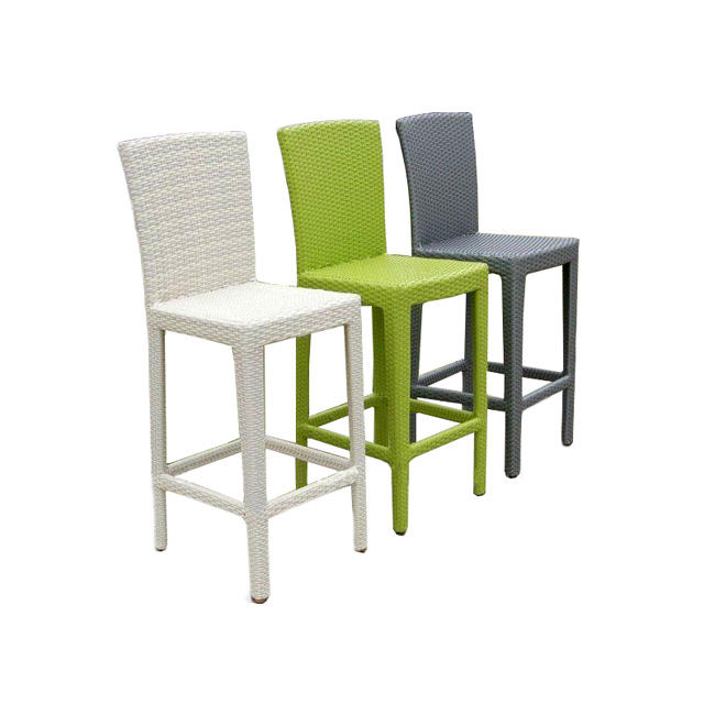 Rattan bar stool outdoor bar high chair
