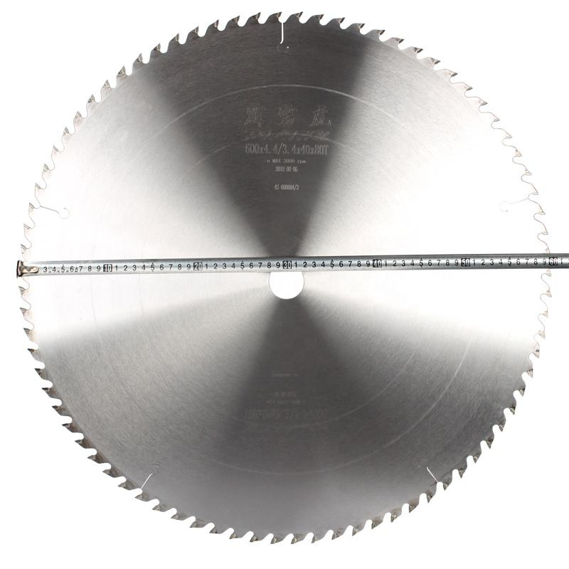 600mm Tungsten Carbide Tipped Wood Cutting Circular Saw Blade for Wood Laminate Board MDF Cutting