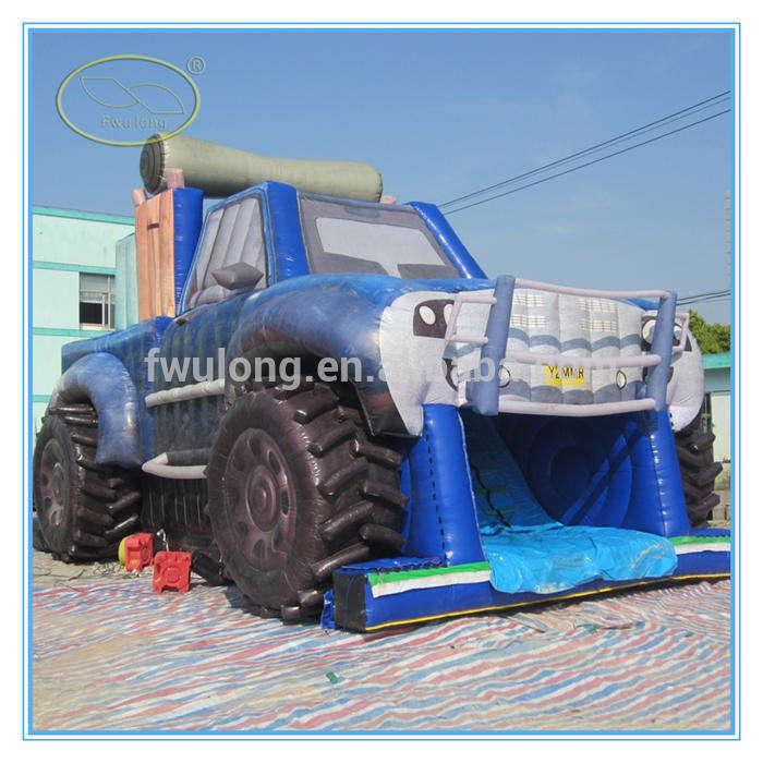 Fwulong PVC 0.55mm khổng lồ inflatable slide nước/jumbo slide nước inflatable cho người lớn