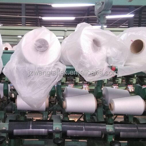 Polyester Ring Spun Yarn 30s/1 (Non Virgin ) Made From Pet Flakes Fiber