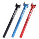 Aluminum Alloy Bicycle Seatpost 400mm MTB Cycling Road Mountain Bike Seat Post Tube 27.2mm/30.9mm/31.6mm