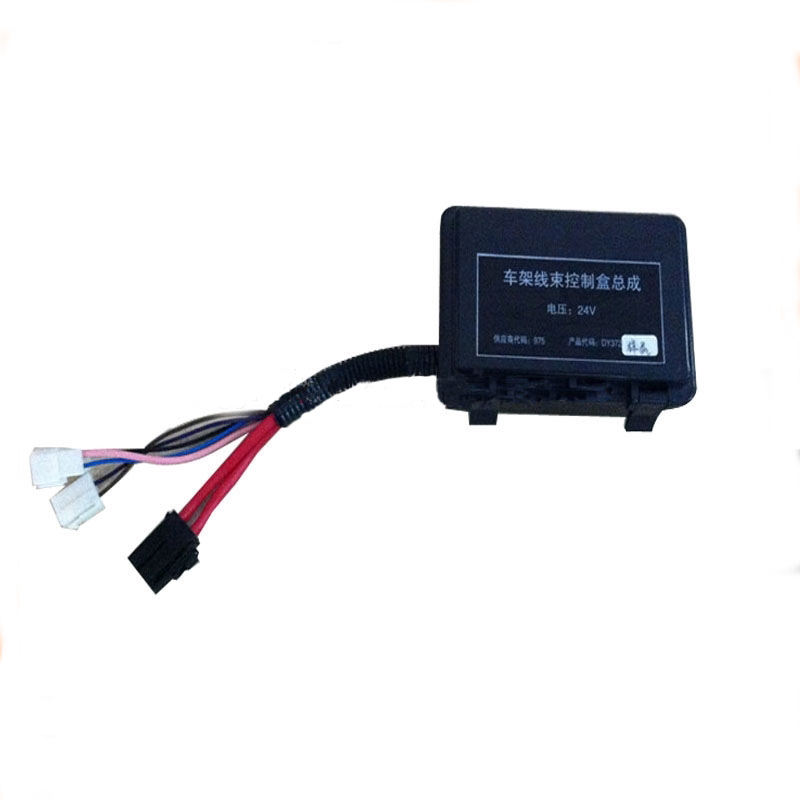 electronic car switch controller box wiring harness / 24V wire harnss automobile controller