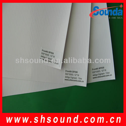 High quality pvc coated cotton fabric