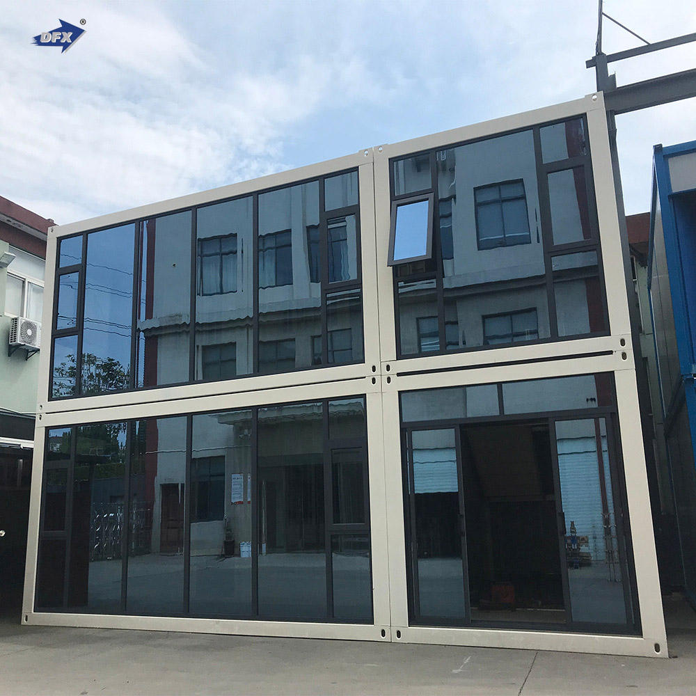 China made luxury flat pack container house homes