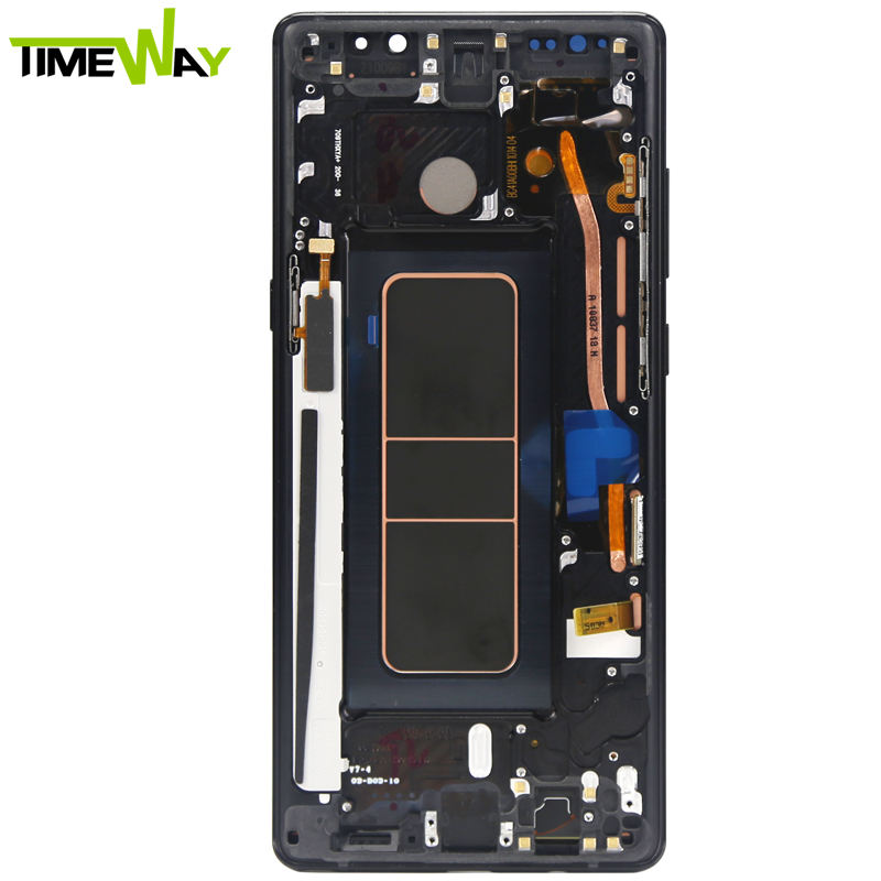 mobile phone lcd for Samsung galaxy Note 8 LCD Display For Samsung Note 10 LCD Screen With Digitizer