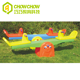 Colorful Children Plastic Outdoor/Indoor Seesaw for Two People Animal Toy