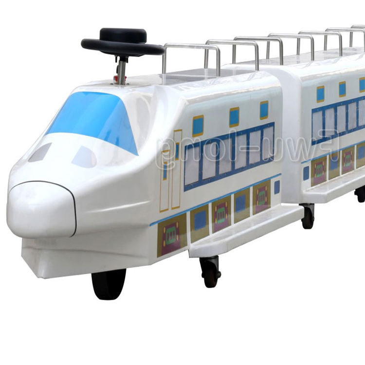 China Manufactures FRP Shell cheap Theme Park Mall Rides Trackless Train