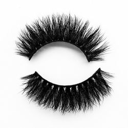 factory direct sale 3 d false eyelash long Pure manual slik eyelashes
