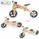 2019 New Design Best Gift Multi 3 in 1 Bicycle Toy Kids Wooden Balance Bike for Sale AT12405