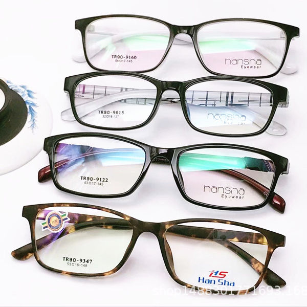 JH Recommend Promotional Cheap Mens TR90 Eyeglasses Small Squared Optical Frames 2019