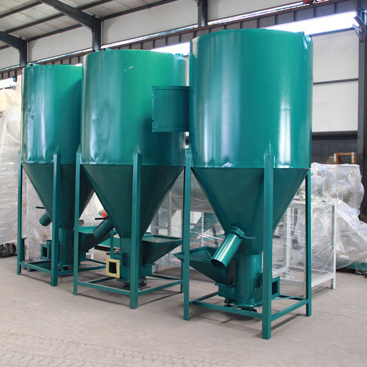 CE Certified Small Vertical Poultry Feed Mill Mixer /Grain, Animal feed, Pellets mill mixer