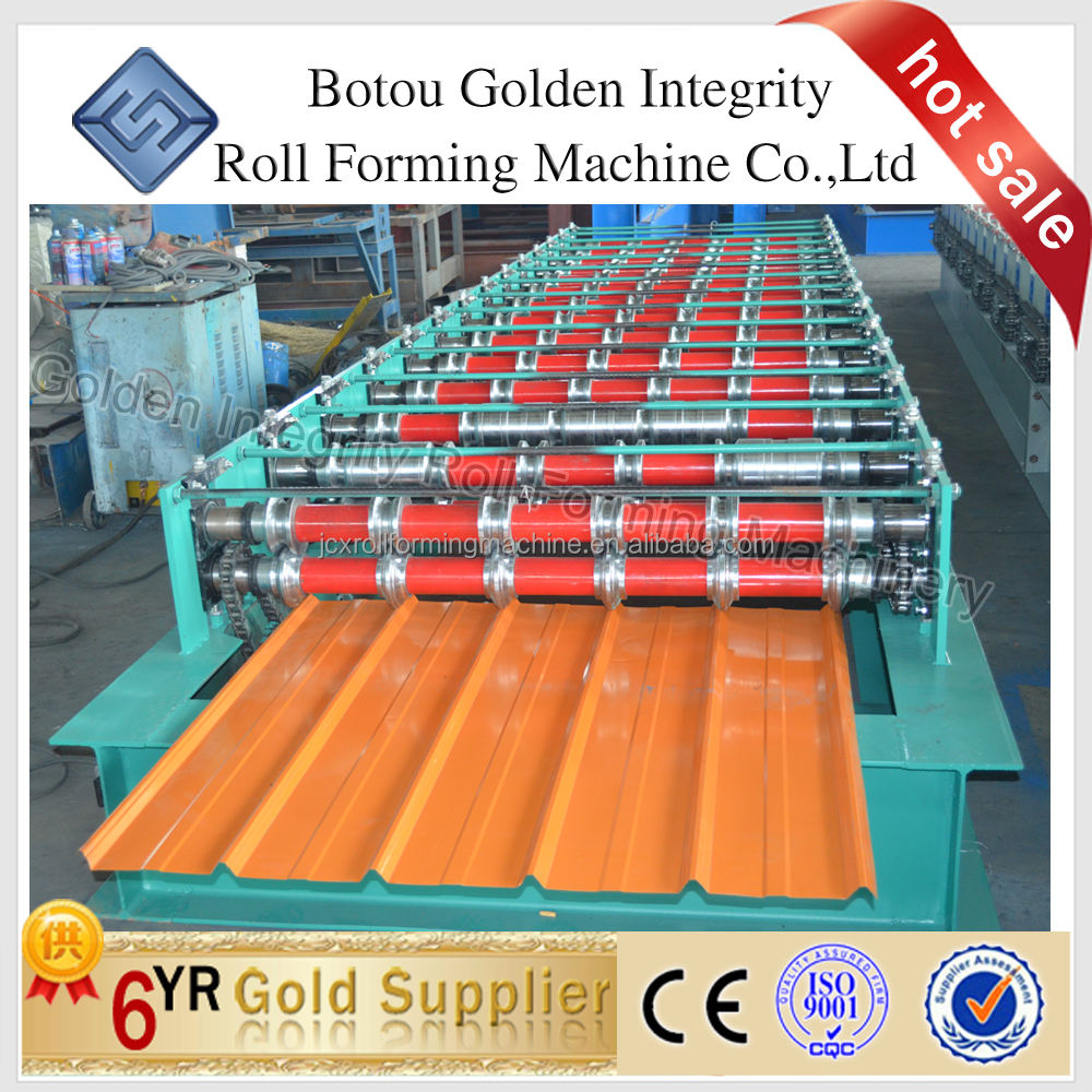 DX 1080 R panel roll forming machine rolling machine made in china