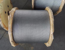 hot sale 6x19+FC, 7x19, 8x19s steel wire rope galvanized wire rope price
