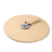 The best customizable pizza stone &cutter&serving rack