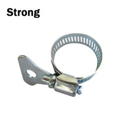 Factory price Galvanized Steel American hose clamp with handle