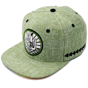Wholesale Custom Embroidery Design Hemp Snapback Hats and Caps