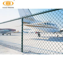 High quality sharp security chain link fence top barbed wire for airport