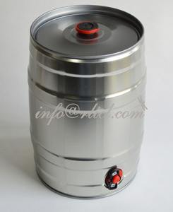 Home Brew Stainless steel Mini beer Keg for homebrewing beer stock