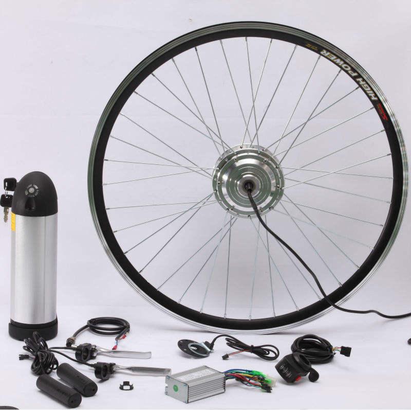 brushless hub motor 36v 500w conversion kit for e-bike