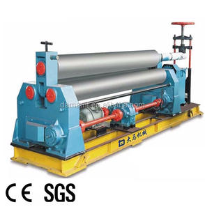 Factory Outlet Sheet Metal Plate Mechanical Three rolling machine