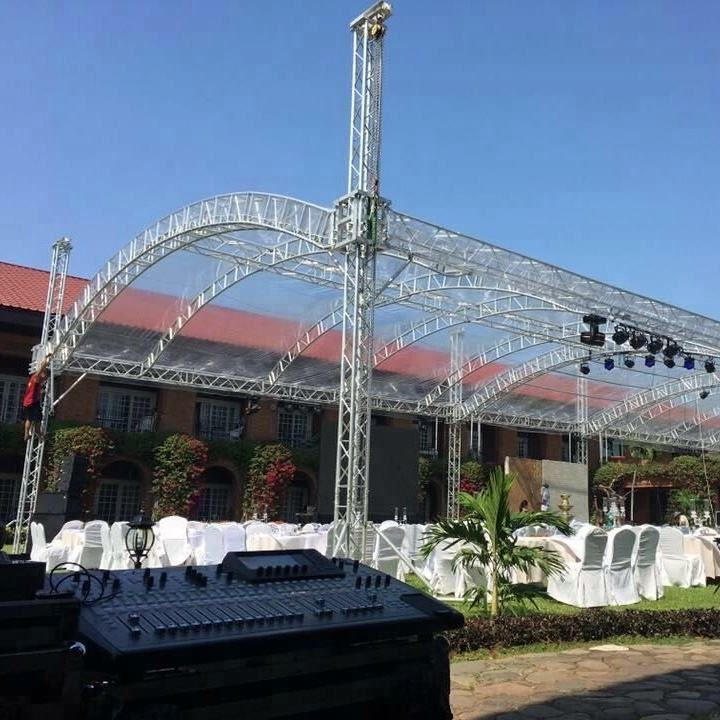 Concert Stage Roof Truss System, DJ Used Aluminum Truss For Sale
