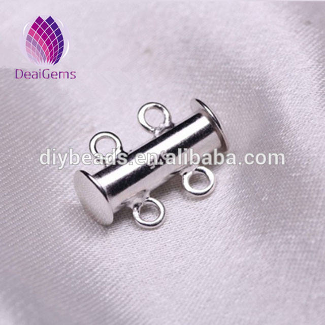 high quality 925 silver pendant bails hooks&clasps for necklace making