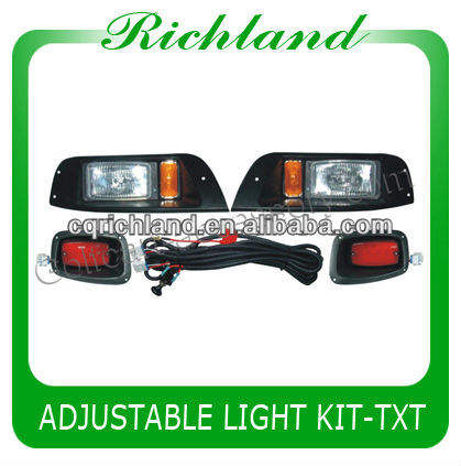 golf cart equipments for lights