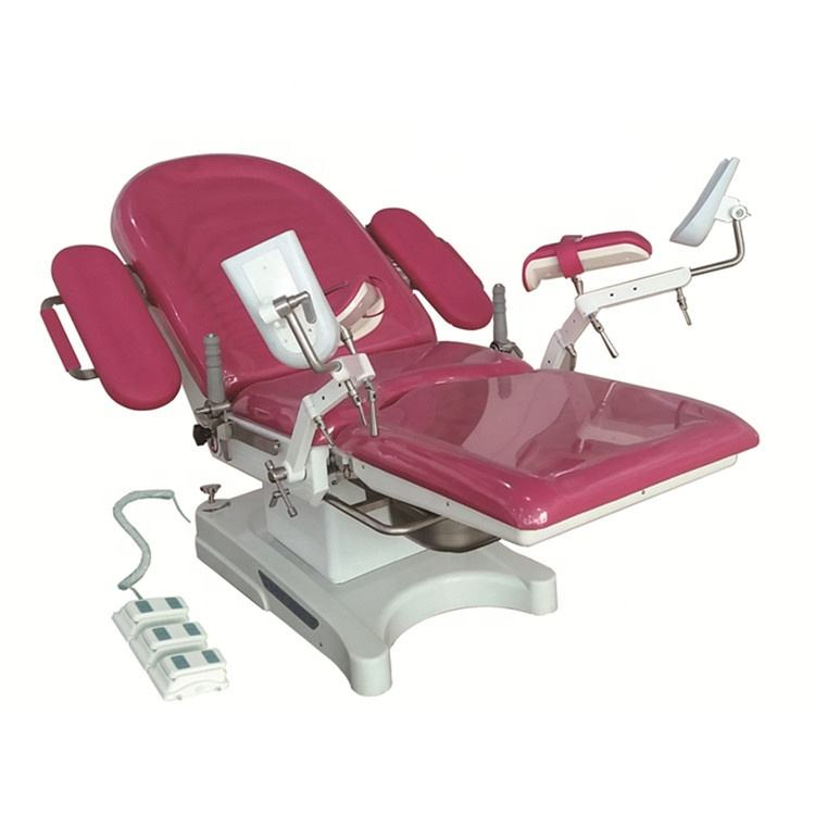 Multifunction electric examination couch for sale gynecology obstetric delivery bed