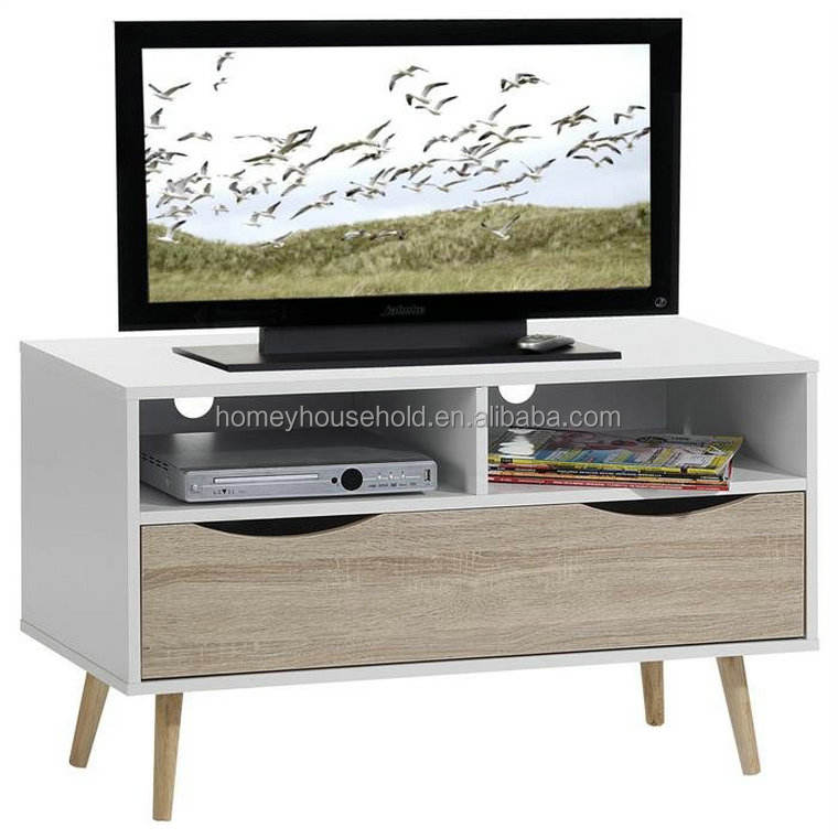 Living room furniture television stand wooden tv stand