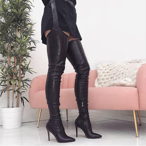 ladies thigh high boots, ladies thigh