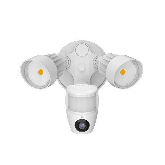 LED Solar Flood Security Light With Camera & Motion Sensor IP65 Waterproof