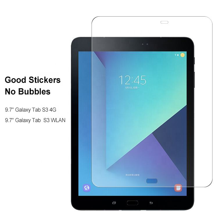 2.5D 9 H privacy tablet Gehard Glas Screen Protector voor Samsung Galaxy Tab S3