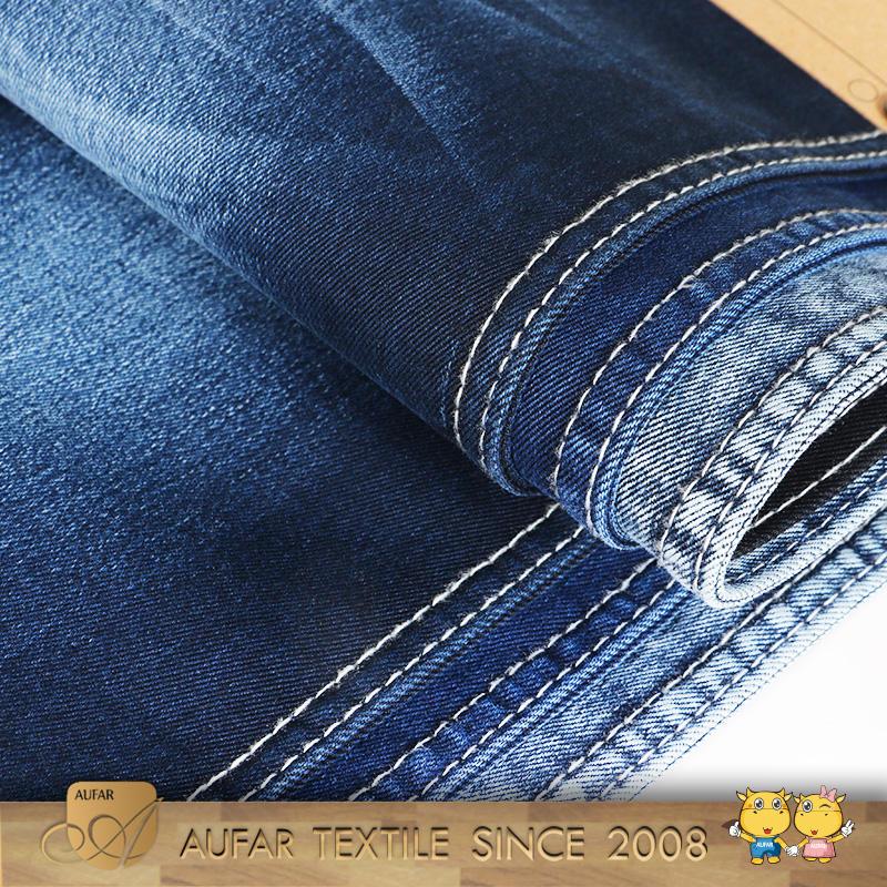 Gros <span class=keywords><strong>Minky</strong></span> <span class=keywords><strong>Vêtements</strong></span> 100% Percale de Coton Dobby Tissu Denim