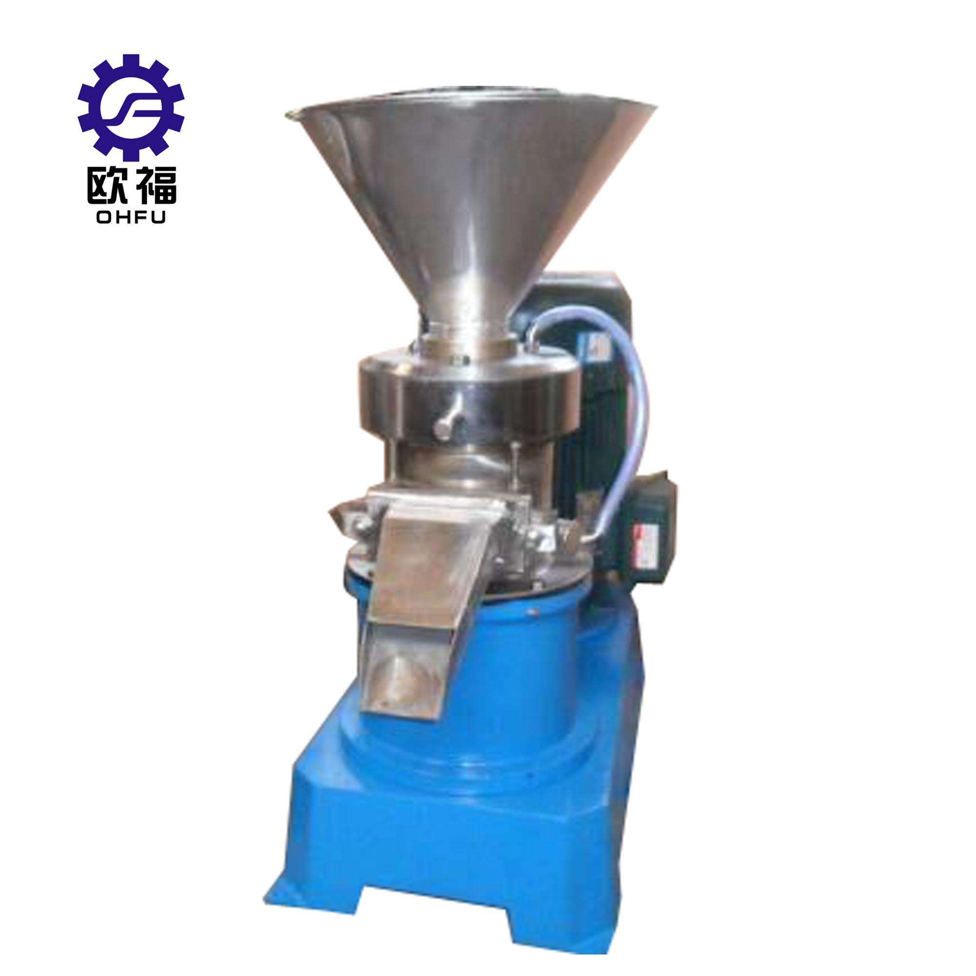 Traditional Tahini stone mill/peanut butter making machine price /sesame seeds grinder