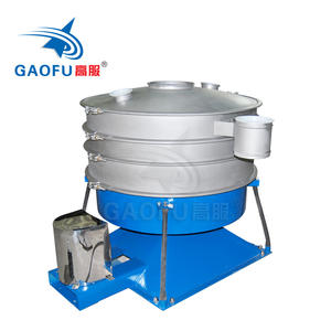 Gyratory chemical sifter machine Stainless Steel Tumbler Screen Machine