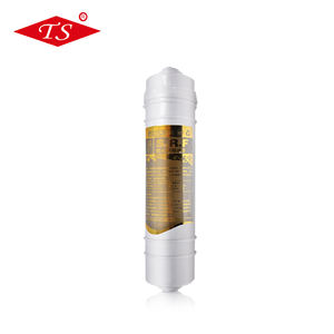 Inline resin filter cartridge air filter